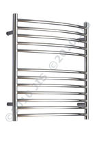 stainless steel electric towel radiator CAMBER 620 JIS Europe
