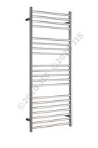 stainless steel electric towel radiator ASHDOWN 520 JIS Europe