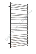 stainless steel electric towel radiator ASHDOWN 620 JIS Europe