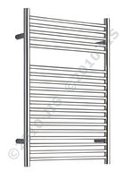 stainless steel electric towel radiator COOMBE 500 JIS Europe