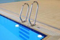 stainless steel handrail for swimming pool  Myrtha Pools