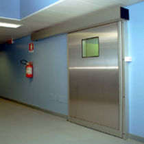 stainless steel hermetic sliding door PSE-I-LD Ponzi s.r.l.