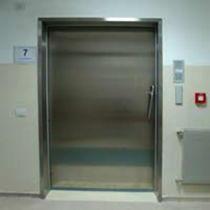 stainless steel hermetic sliding door PSE I Ponzi s.r.l.
