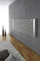 stainless steel horizontal hot-water radiator SIRIO ORIZZONTALE EMMESTEEL s.r.l.