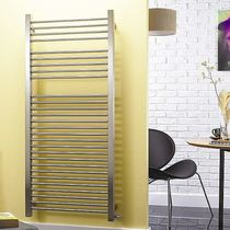 stainless steel hot-water towel radiator CENTURION Accuro-Korle
