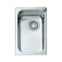 stainless steel kitchen sink VS 40/25-D ALPES-INOX