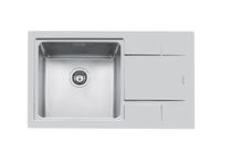 stainless steel kitchen sink S4000 86.1V.45.Q4 - 4383 06*  Foster