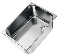 stainless steel kitchen sink LA1400 CAN di Bellini Mauro