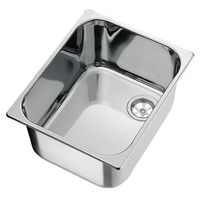 stainless steel kitchen sink LA1401 CAN di Bellini Mauro