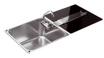 stainless steel kitchen sink LR1761 CAN di Bellini Mauro