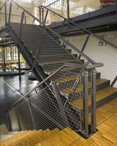 stainless steel railing for commercial buildings WEBNET MMA Architectural Systems Ltd