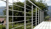 stainless steel railing METALINE Metamont AG