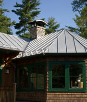 stainless steel standing seam roofing TCS II® Follansbee