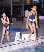 starting block for public pools  sport France
