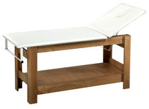 stationary facial bed WOODEN RELAX BMP Srl