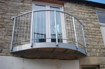 steel balcony  New Forest Metal Work