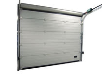 steel sectional garage door PORTONI SEZIONALI GOLD E SILVER Breda Sistemi Industriali S.p.A. - Portoni Seziona