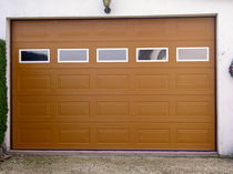 steel sectional garage door  EURODOORS