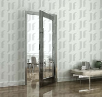 steel swing door with glass panel R-CONCEPT COMENZA