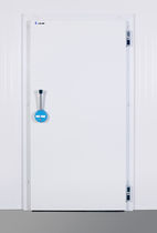steel swing door PFD ISOCAB NV (RETAN CLEANROOM CONTRUCTION)