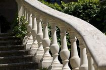 stone balustrade Castello Monaci Decor