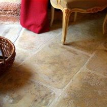 stone look concrete tile SERMIPIERRE VIEILLI ROUVIERE
