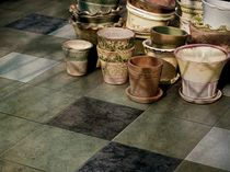 stone look porcelain stoneware floor tile (FloorScore certified, low VOC emissions) ECOCYCLE Crossville