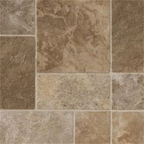 stone look PVC tile CANYON WALK BEIGE BLEND DUPONT