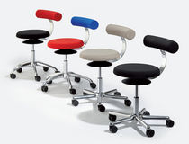 stool for offices with casters AOGO Löffler Bürositzmöbel GmbH