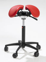stool for offices with casters SALLI  ISKU