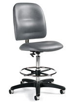 stool for offices with casters 3256-50 GLOBAL totaloffice