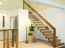 straight floating staircase  Schmidt Escaliers