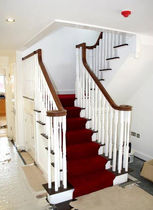 straight masonry staircase CAMBRIDGE Pear Stairs
