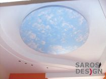 stretch ceiling Sky art Saros EST OU