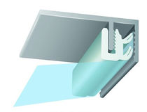 stretch ceiling fixation profile CLIPSO-FPS®: CCA CLIPSO
