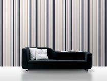striped non-woven wallpaper SAILS &amp; STRIPES: 2866 Decor Maison