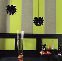 striped wallpaper LONDON CASAMANCE