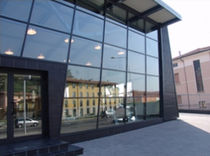 structural curtain wall (aluminium and glass)  S.T. VETRERIA SOMBRA DO SOL TM