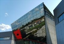 structural curtain wall (aluminium and glass)  ALUTECNICA sas