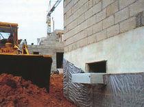 studded draining sheet (vertical drainage) DELTA-DRAIN DORKEN