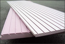 studded draining sheet (vertical drainage) PINK-DRAIN™ QuietZone