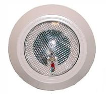 submersible halogen pool light EXTRA FLAT Plastica