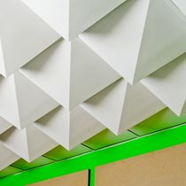 suspended ceiling tile made by recycled materials PEAK MIO
