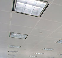 suspended ceiling with hidden structure CLIP-IN Burgess Architectural Products Ltd.