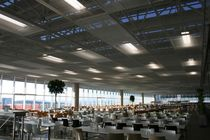 suspended expanded metal ceiling GENMESH CEILINGS Kasso Engineering Limited Co.
