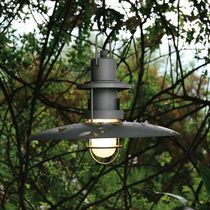 suspended garden lamp POLO cod.1884/S by Elio Martinelli , 1986 Martinelli Luce Spa