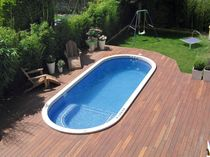 swim spa in mosaic MULTITUDE 600 CLAIR AZUR