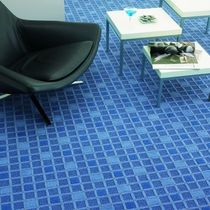 synthetic cut-loop pile carpet tile DUO Associated Waevers