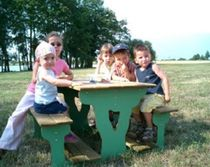 table for playground  Rondino