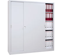 tall filing cupboard (sliding door) FLATPACK GURKAN